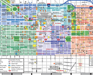 Dc tourist map