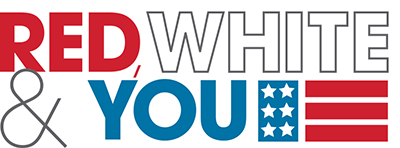 Red White & You Logo