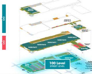 Convention Center Interactive Floor Plans