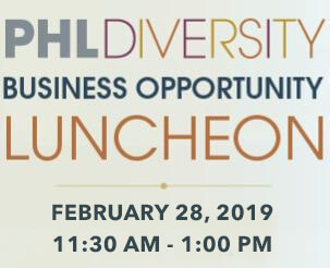PHL Diversity Business Opportunity Luncheon