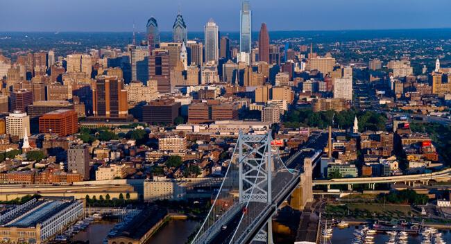Les Environs de Philadelphie