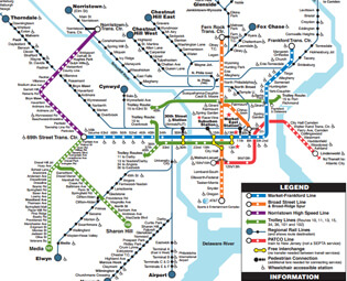 Mass Transit Map