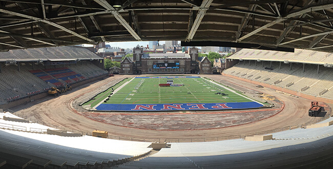 Historic Franklin Field Gets a Facelift