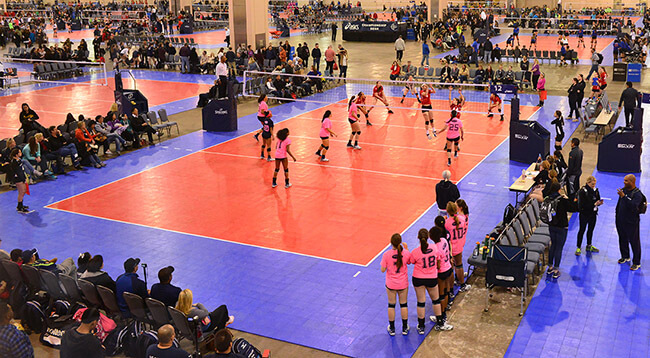 ASICS Northeast Qualifier Volleyball