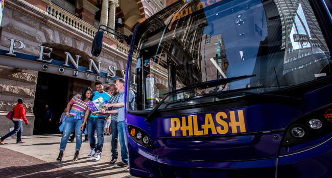 Philly Phlash Center City Shuttle