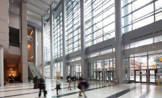 PCC, Pennsylvania Convention Center, interior