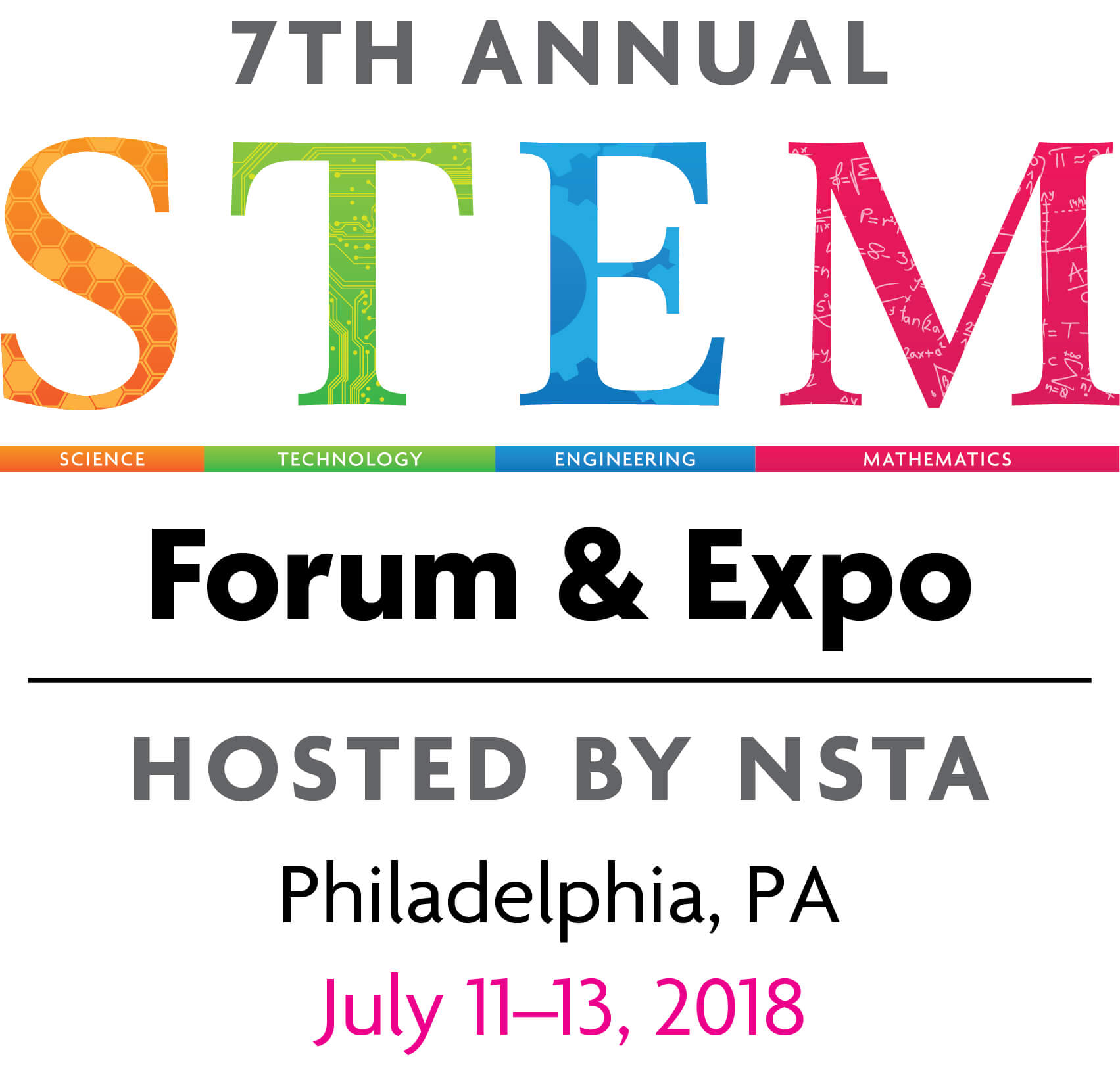 NSTA Stem Forum and Expo logo