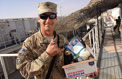 Operation Gratitude recipient