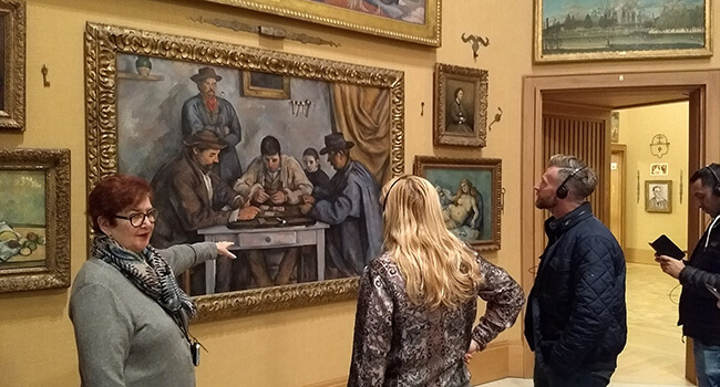 One of the finest private art collections in the world can be viewed at Philadelphia's Barnes Foundation.