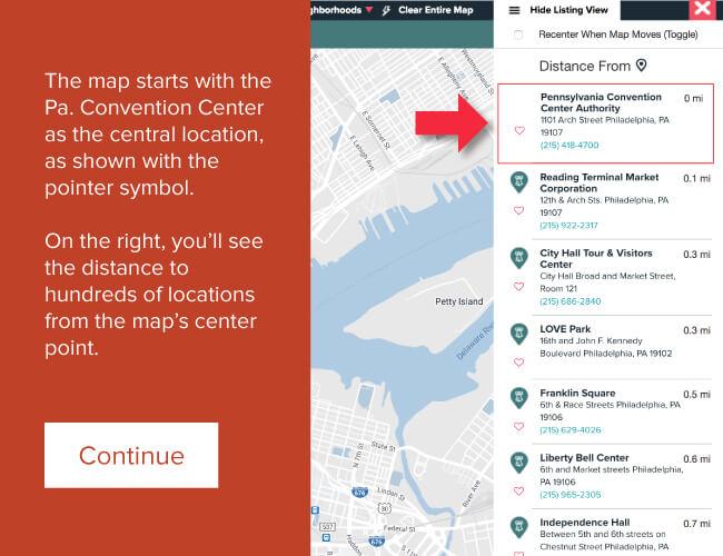 Interactive Map - discoverPHL.com