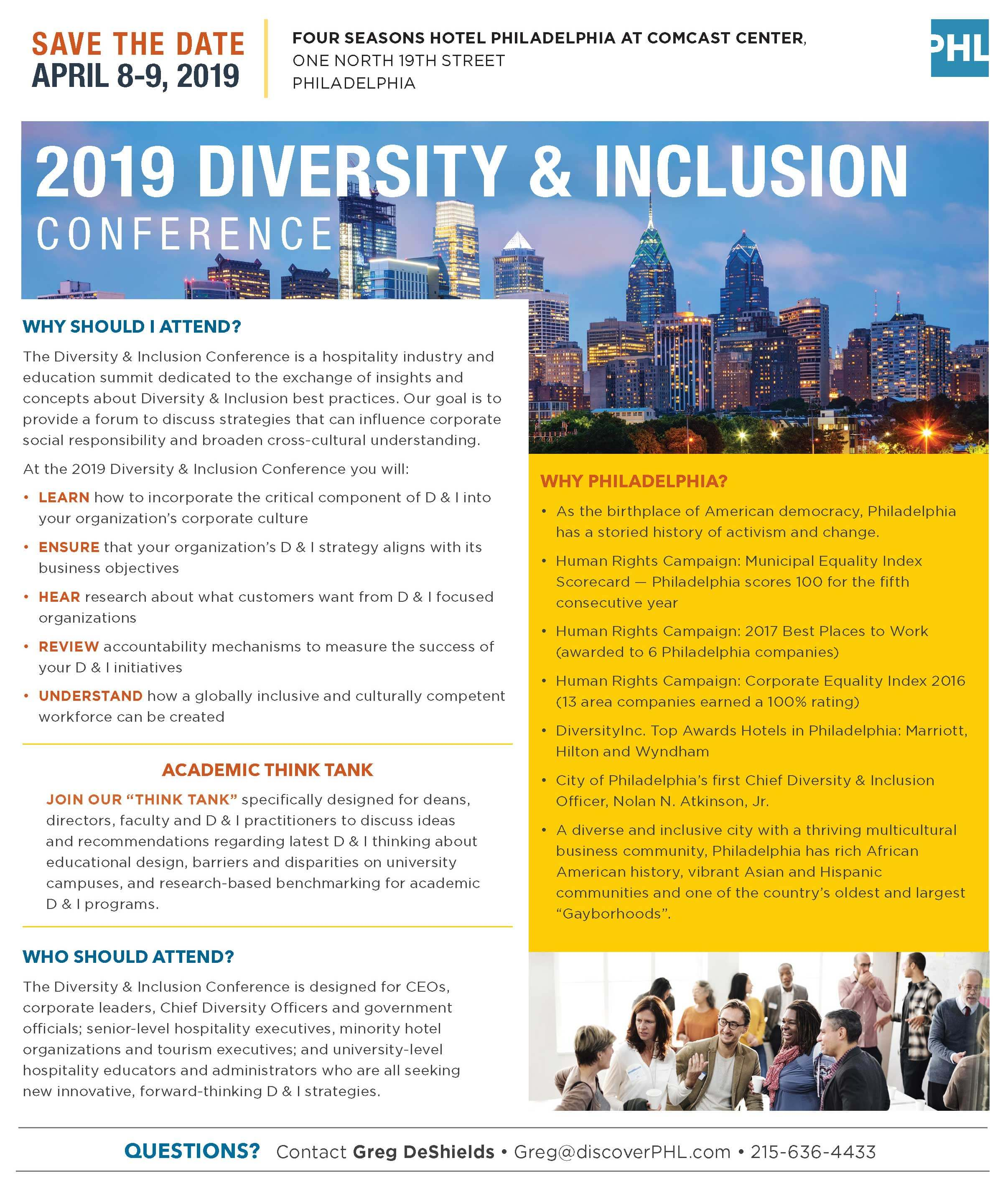 2019 Diversity & Inclusion Conference