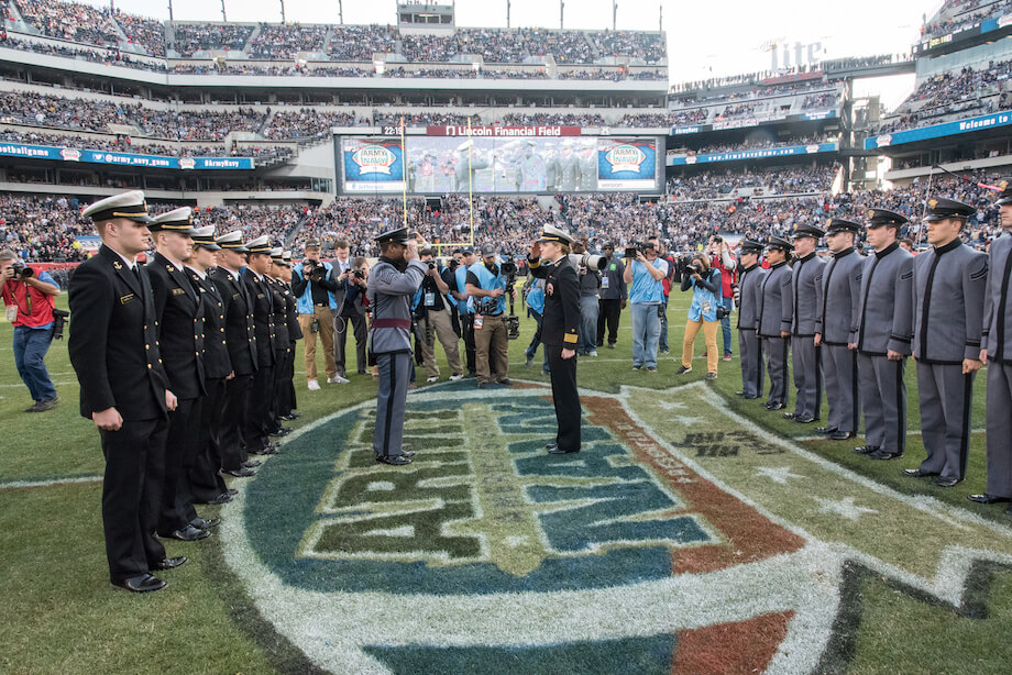 Army Navy Football at Lincoln Financial Field