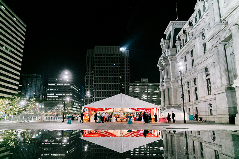outdoor event venue dilworth park