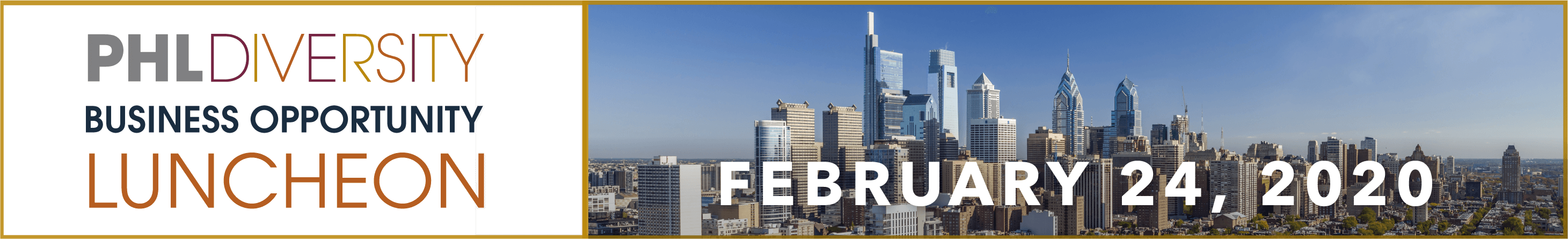 PHLDiversity Business Opportunity Luncheon 2020