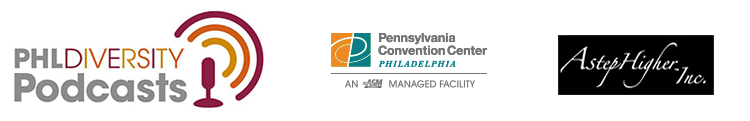 PHL diversity podcast logo