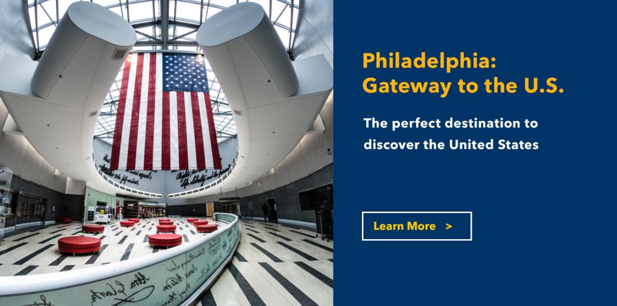 Philadelphia Airport Image Philadelphia Gateway to the US