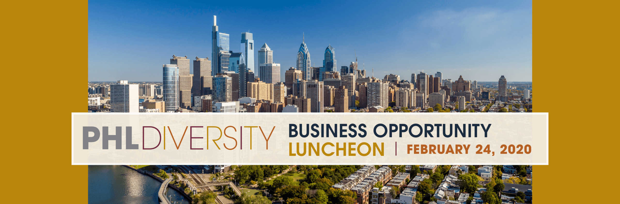 2020 PHL Diversity Business Opportunity Luncheon