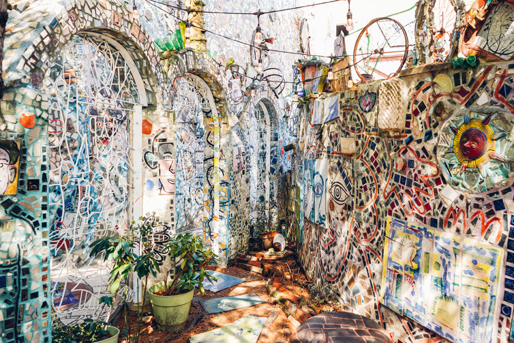 magic gardens mosaics