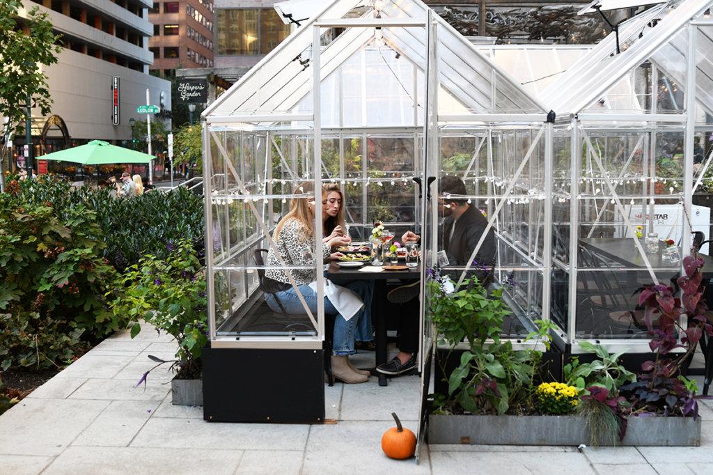 greenhouses harpers garden